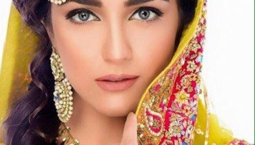 Maya Ali Bridal Look by Akif Ilyas