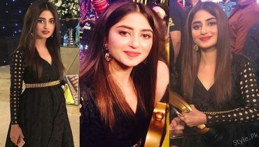 Sajal Ali's Beautiful Dress at Hum Awards