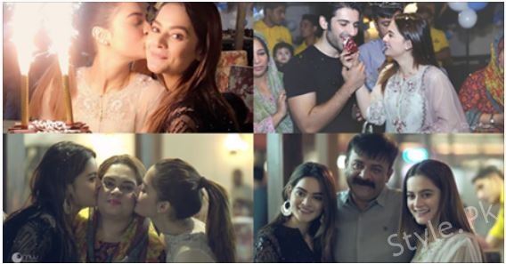 Beautiful Twins Aiman Khan And Minal Khan's 19th Birthday Celebration Pictures, Celebrities, celebrities News, celebrity , Celebrity News , entertainment