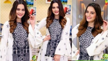 Gorgeous Aiman Khan In Sanam Jung's Show