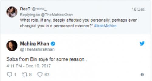 Mahira Khan And The Jerjees Seja Talked About #AskMahiraSession