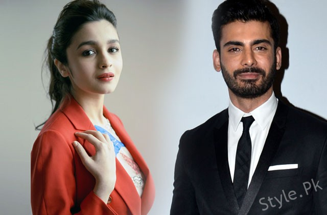 Alia Bhatt And Fawad Khan Starring In A New Movie Together