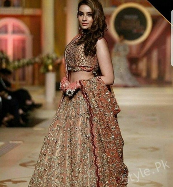 Bridal Couture Week Day 2, Mawra Hocane,Aiman Khan