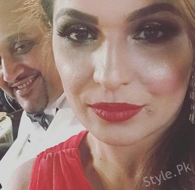 Meera Jee Seen With Her Better Half At Masala Awards, Masala Awards, Masala Awards in Dubai, pakistani famous meera, meera jee