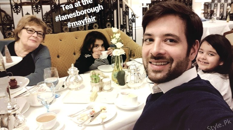 Mikaal Spending New Year With Mother And Daughters In London