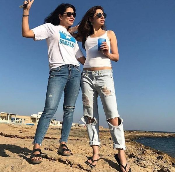 Social Media Get Offended With Mahira Khan's Stroll On The Beach