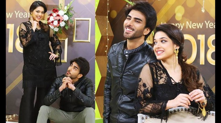 Sanam Jung Picture With Imran Abbas Causes Social Media Outcry