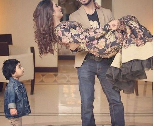 See Beautiful Pictures of Bilal Qureshi and Uroosa Qureshi