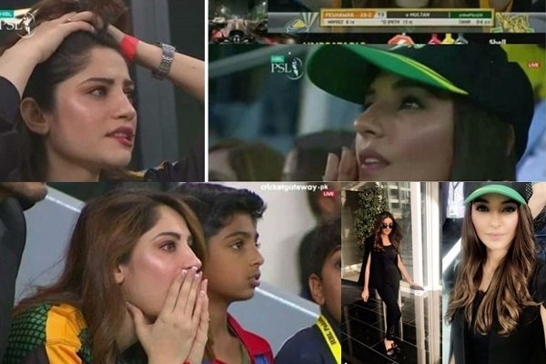 See Cricket Fans are Crazy over Beautiful Sadia Khan and Neelum Muneer