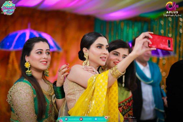 See Fiza Ali at a Mehndi Event in Ek Nayi Subha with Farah