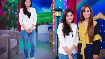 See Hina Altaf in EK Naye Subha with Farah Sadiya
