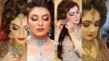 See Latest Pakistani Bridal Hairstyles 2018
