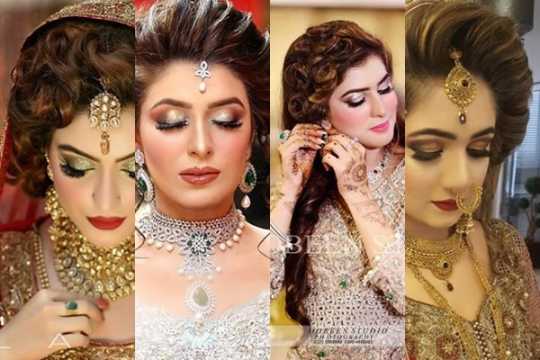 See Latest Pakistani Bridal Hairstyles 2018