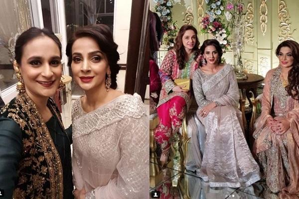 See Saba Qamar at a Wedding Event in Lahore