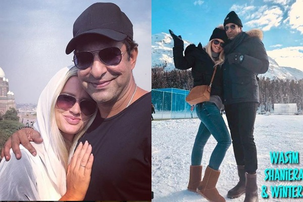 See Wasim Akram and Wife Spending Quality Time in Switzerland