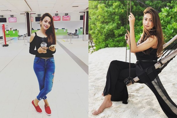 See Zarnish Khan is Vacationing in Maldives