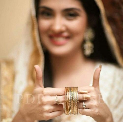 Actress Aleezay Tahir Got Nikkahfied