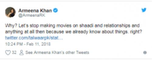 Armeena Khan And Sanam Saeed Speak Against the Ban on PadMan Movie