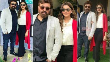 Yasir Nawaz and Nida Yasir spotted at an Event, Yasir Nawaz and Nida Yasir , Yasir Nawaz, famous Yasir Nawaz, Nida Yasir