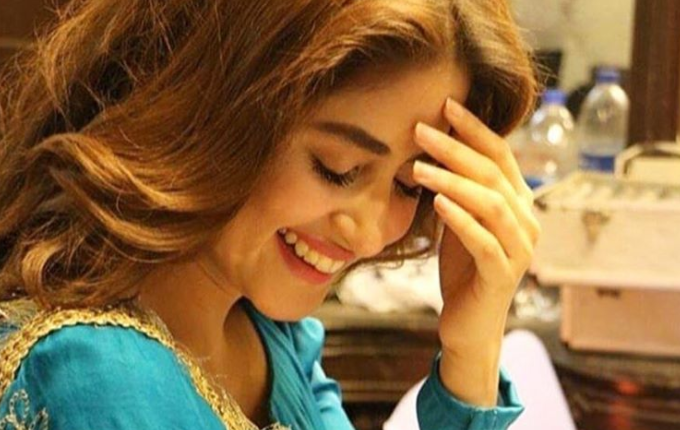 """Sajal Aly's New Look From """"Aangan"""" Will Make You Go 'Aww', Sajal Aly's New Look From """"Aangan"""", Sajal Aly's , Sajal Aly's New Look"""