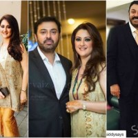 Beautiful picture of Noman Ijaz with his wife