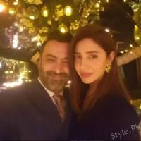 Mahira Khan At Birthday Party Of Fawad Khan's Wife Sadaf