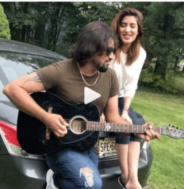 Filmstar Mehwish Hayat Records First Punjabi Solo Song