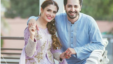 See Ayeza Khan with her Family on 2nd Day of Eid