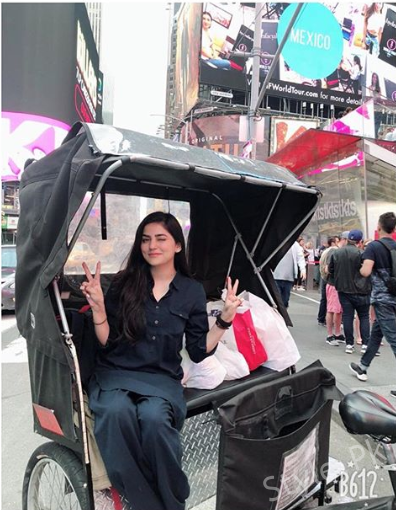 See Sanam Baloch's Pictures in New York