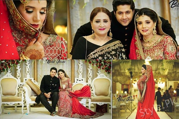 See Imran Ashraf and Kiran Ashfaq's Wedding Pictures