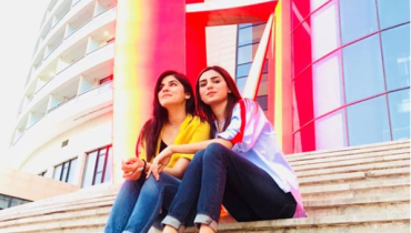 See Sanam Baloch with her sister Ghanwa Baloch