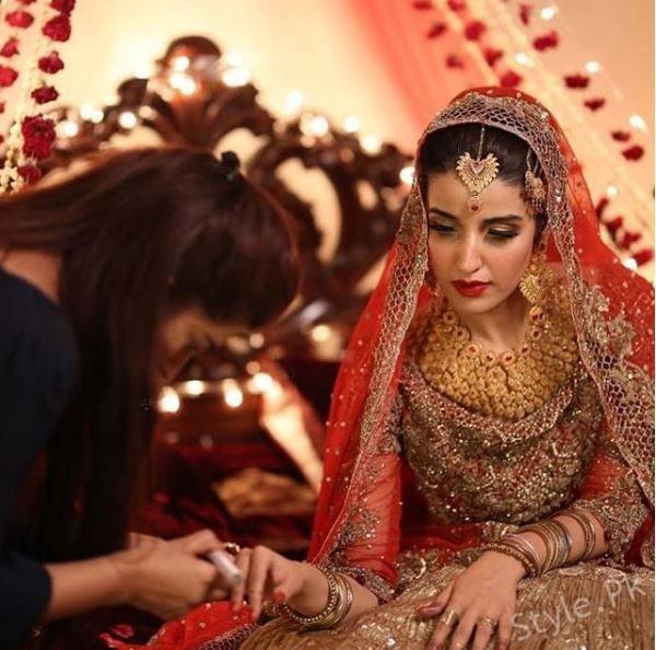 Beautiful Bridal Look Of Hareem Farooq