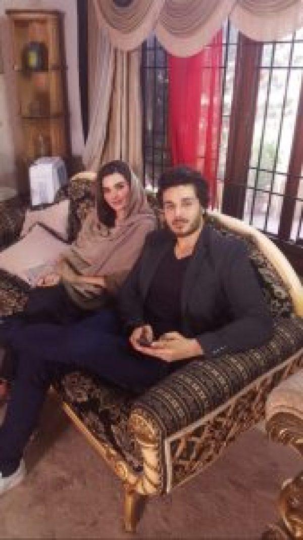Sadia Khan and Ahsan Khan Pair Up For Mariam Perera