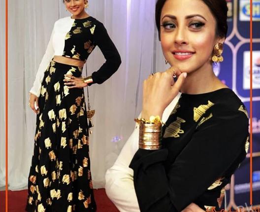 See Ainy Jaffri Slays in Monochrome dress at HUM Awards