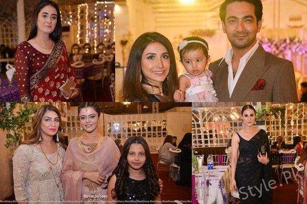 See Celebrities at Reception of Maham Amir and Faizan Sheikh