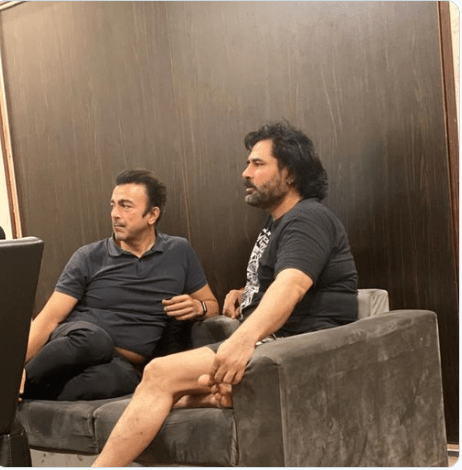 Shaan Shahid and Shafqat Amanat Ali