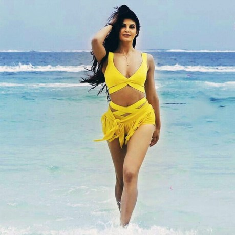 Jacqueline Shares excitement on shooting For Bhoot Police