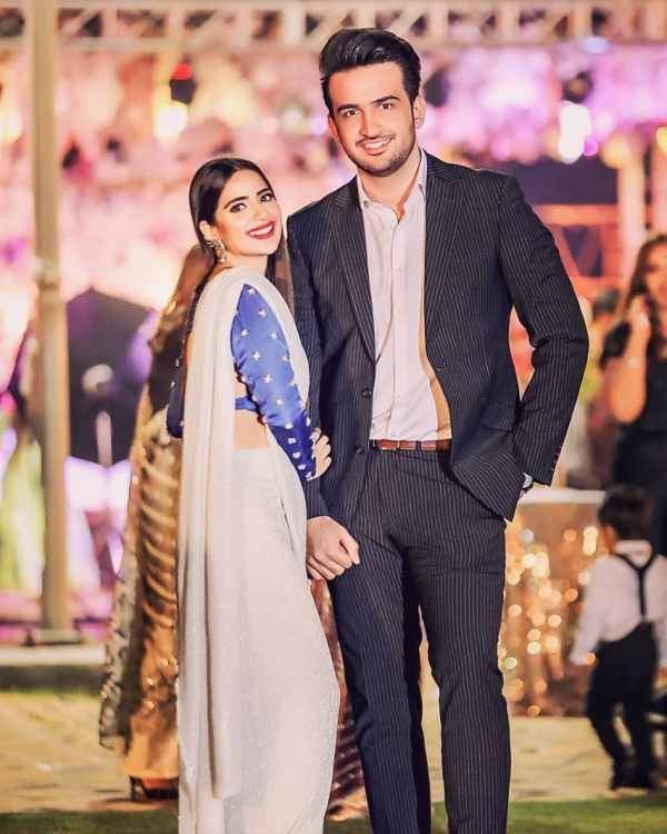 Saboor Ali Latest Beautiful Clicks from a Recent Wedding