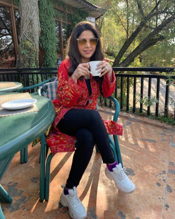 Hadiqa Kiani Enjoying Vacations At Murree Hills