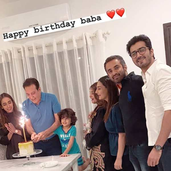 Javed Sheikh recently celebrated his birthday with his lovely family. Famous Pakistani actress Momal and popular actor Shahzad Sheikh arranged a surprise birthday for their father with flowers, balloons and cake. He thinks it is special and likes to see everything. Momal shared his birthday photos on Instagram and all fans wish him a happy birthday. Scroll down to see the birthday photos of handsome evergreen man Javed Sheikh.