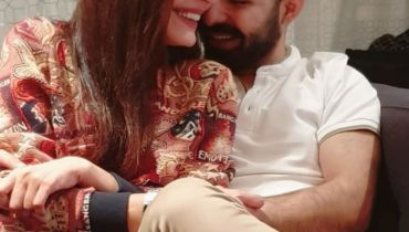 Sadia Ghaffar with Her Husband Hassan Hayat Latest Pictures