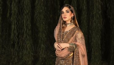 Arisha Razi Khan Latest Bridal Shoot for BNS by Bina Sultan