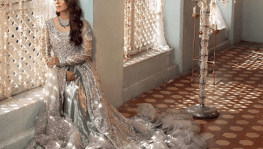 Ayeza Khan Latest Pakistani Wedding Dresses Photoshoot