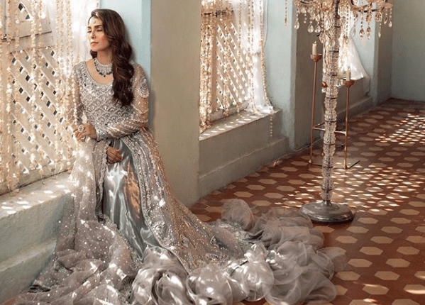 Ayeza Khan Latest Pakistani Wedding Dresses Photoshoot