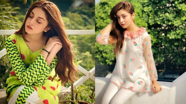 Latest Cute Pictures of Actress Alizeh Shah In Sleeping Dress