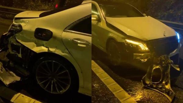 Amir Khan and Faryal Makhdoom Suffer a Dangerous Car Accident