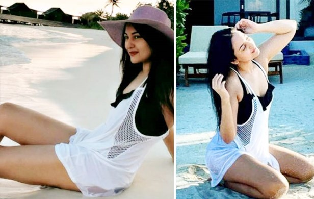 Sonakshi Sinha is Vacationing at Her Happy Place Maldives