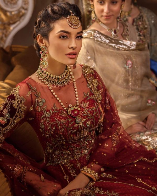 Sadia Khan Latest Pakistani Bridal Dresses Photoshoot