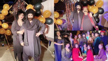 Unique Casual Style Adapted By Reema Khan On Halloween