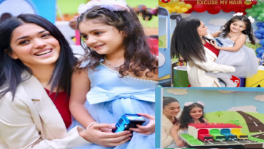 Sanam Jung Celebrating 4th Birthday of her Daughter Alaya